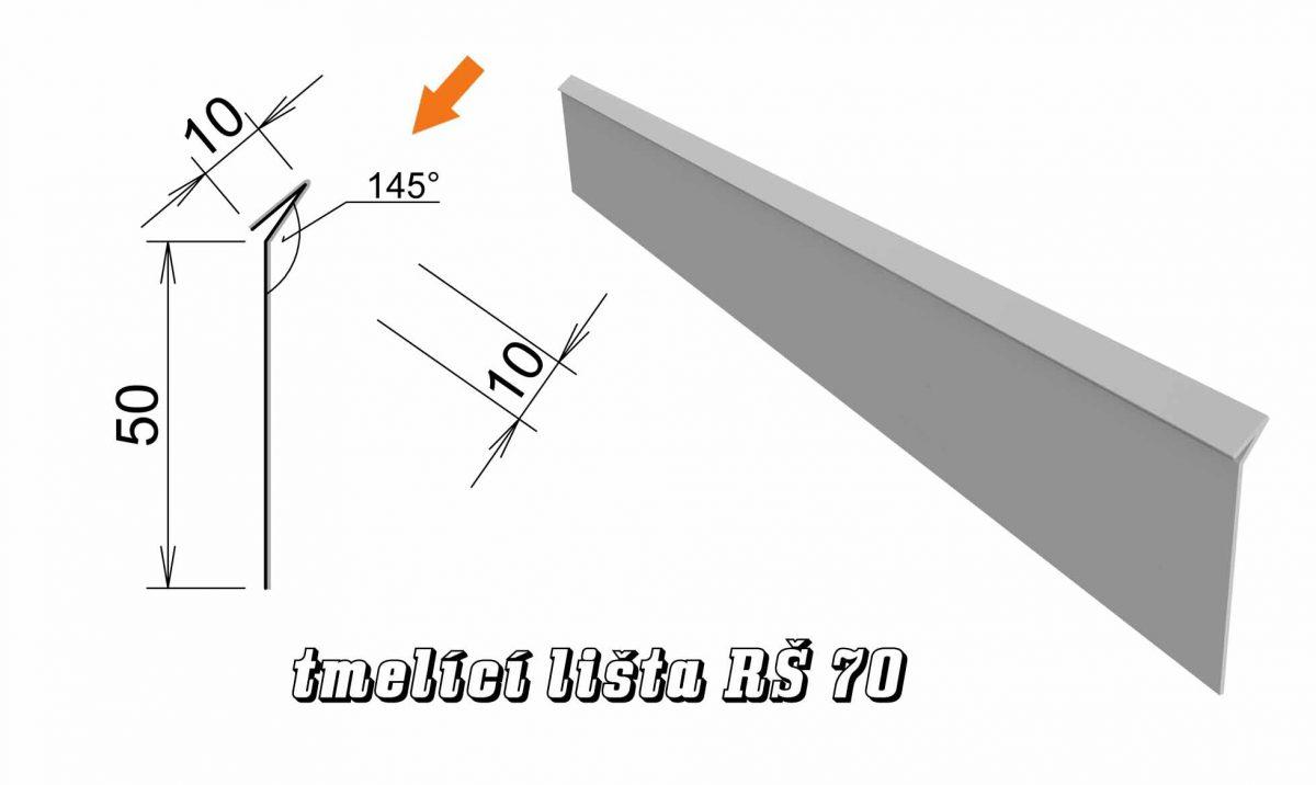Tmelící lišta var. A (03A / 0,84 kg)