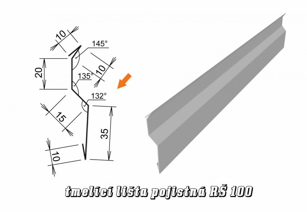 Tmelící lišta pojistná var. A (08A / 1,2 kg)